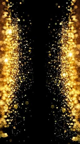 金色闪亮泼金闪亮黑色背景典当H5背景