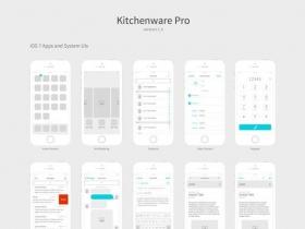 手机app界面模板合集素材