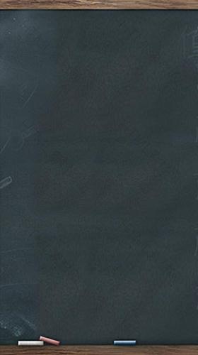 简约黑板背景图