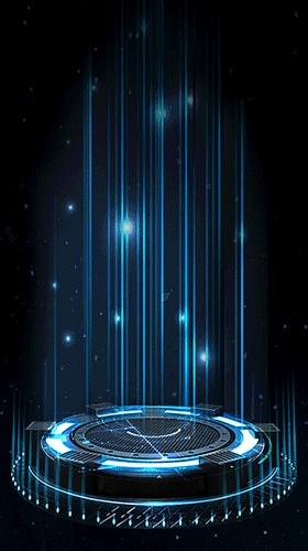 科技舞台H5背景素材