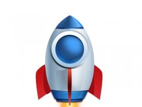 小火箭psd源文件