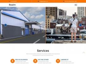 房地产租房置业企业网站模板