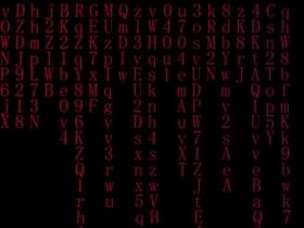 html5类似柳条文字摆动效果