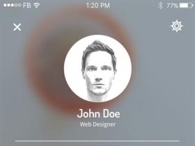 手机app主页设计
